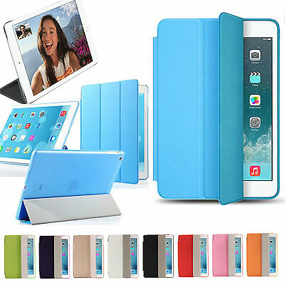 Leather Magnetic Smart Card Case Flip Stand Cover for Apple iPad 2 3 4 Mini Air
