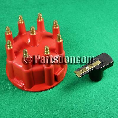 Red Male Distributor Cap & Rotor Button Suit Holden 253 308 Ford 302 351 V8