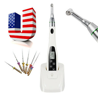 Dental Wireless Endodontic Endo Motor Root Canal Treatment +Contra Angle +Files
