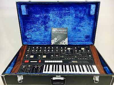 Vintage Synthesizer : Yamaha C20M  in Great Condition with Hard Case and Manual