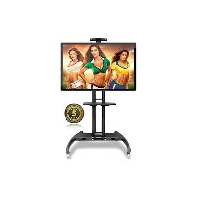Supporto TV a pavimento staffa colonna carello trolley AVA1500-60-1P