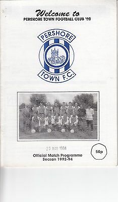 Pershore Town 88 V Highgate Utd - Midland Combination League - 29/3/94