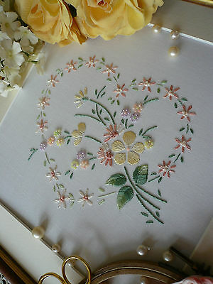 Embroidery Kit: 'Sophie' Lemon ; Beautiful Kits By Maggie Gee