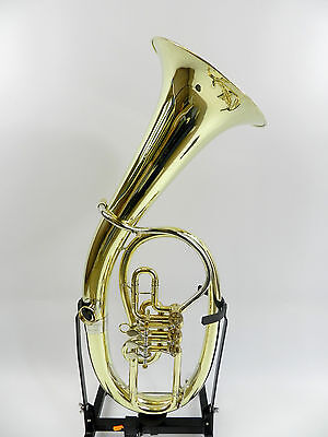 Tenor HORN Saxhorn Weltklang by B&S 3 flaps + System MINIBALL 13