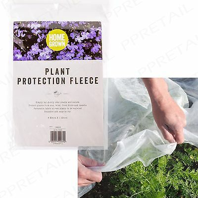 LARGE 6mx1m Frost & Insect Protection Fleece Winter Cover Plants Crops Shrubs
