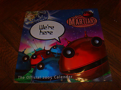 Smash Martians Calendar 2005