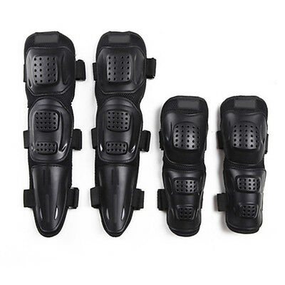 New Durable 4pcs Elbows Knees Protector Pads Guard For Bicycle Motorcycle Riding