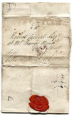F123 1773 GB Tuam Dublin Letter was Written by the Bishop of Tuam PTS