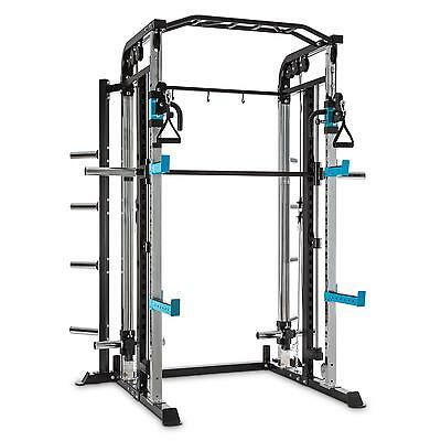 Multi Power Rack Seilzug Gewichtheben Langhantel Krafttraining Home Gym