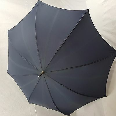 Vintage Gentlemen's Umbrella-Blue- St Michael (Marks and Spencer)
