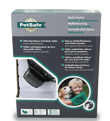 PetSafe PBC19-12443 Deluxe Bark Control Collar for Little Dogs 5 to 40 lbs