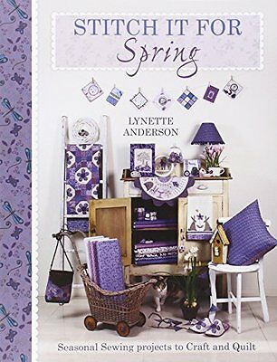 Stitch it for Spring - Anderson  Lynette - Paperback Book - New - 9781446303177