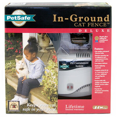 Petsafe Deluxe In-Ground Cat Fence System / Clôture Anti Fugue Pour Chat