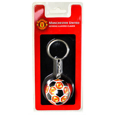 Official Licensed Football Product Manchester United Ball Keyring Key Chain Gift