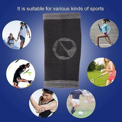 MUMIAN A23 Bamboo Charcoal Elastic Sport Arm Sleeve Support Safety Elbow Pad GT