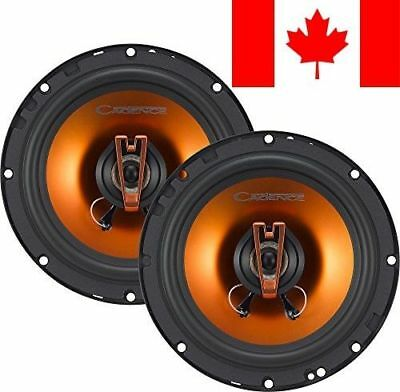 Cadence Acoustic S Q652 250W 6.5-Inch 2-Way Q-Series Coaxial Car Speakers, Se...