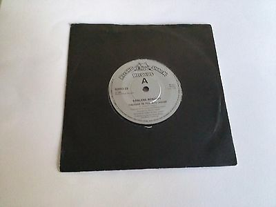 """Earlene Bentley - Caught In The Act -  7"""" Vinyl Single Record 45Rpm 1984"""