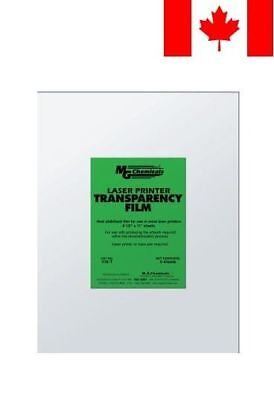 "MG Chemicals PET Transparency Film Sheet, 11"" Length x 8-1/2"" Width"