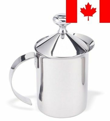 Cuisinox FRO-800F Cappuccino/Milk Frother, Stainless Steel