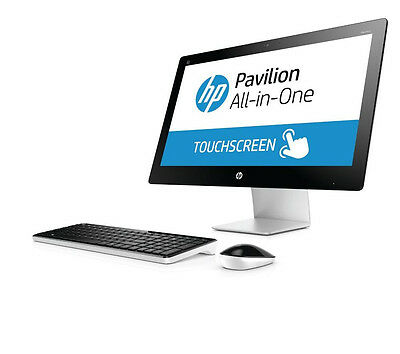 "HP Pavilion 23-q110na 23"" Touchscreen All-in-One PC AMD A10 8GB Ram 1TB HDD"