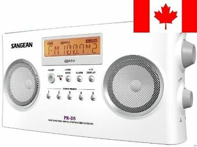 Sangean PR-D5P Portable Radio with Digital Tuning and RDS