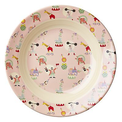 RICE Melamine - Pink Circus Print Bowl - Combined Postage