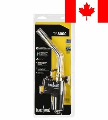 Bernzomatic TS8000BT High Intensity Trigger-Start Torch Head