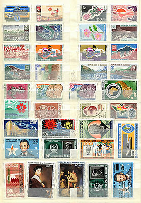 Republic Of Dahomey 1961 - 1970  ***** 36 Mnh Stamps