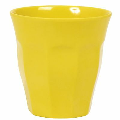 RICE Melamine Medium Cup - Yellow - Combined Postage!