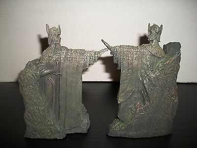Lord of the Rings The Argonath 2002 Collectable Statues by Sideshow Weta