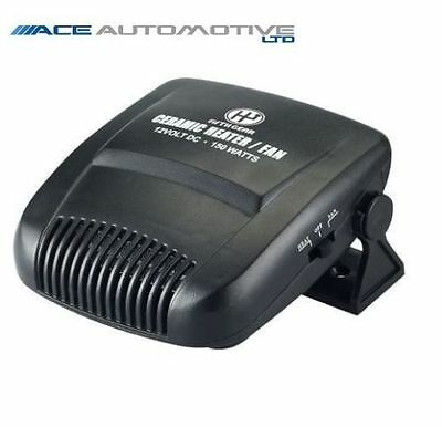 Defroster 150W 12V Plug In Car Heater For Fiat Punto Evo Abarth 2010>