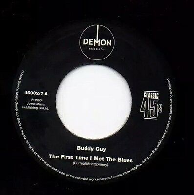 "Buddy Guy Mint 7"" 2-Sider R&b Blues Mod 45.free Uk P&p"