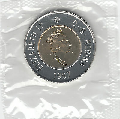1997 Canada 2 Dollars Sealed PL From Proof-Like Set