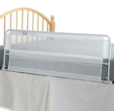 Portable Bed Rail by Regalo White Hide Away Extra Long for Safety Gap Guard