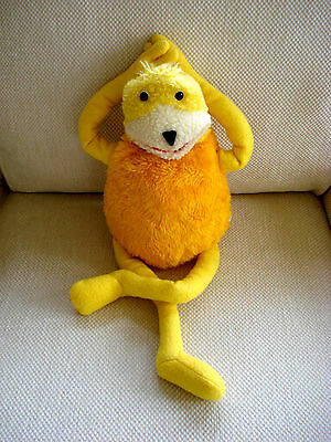 "Official Flat Eric Levi's Jeans Ad Large 23"" Soft Toy By Vivid Imaginations 1999"