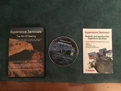 Experience Seminars The Art of Seeing - Photography Training DVD