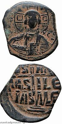 Byzantine Coin Ae 31 Anonymous Follis Class Ii Attributed To Romanus Iii