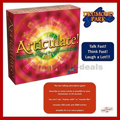 Articulate The Fast Talking Description Board Game BRAND NEW SEALED