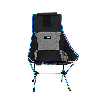 Big Agnes Helinox Chair Two Black! Lightweight & Durable Camp Chair!