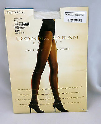 DKNY Comfort Luxe Over The Knee One Size Post It Pink Rose Stretch Tights NWT