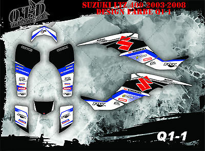 Scrub Dekor Kit Atv Suzuki Ltz 400 2003-2008 Graphic Kit Q1 B