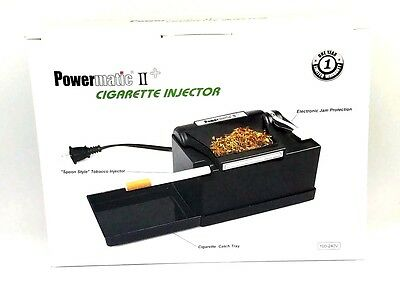 Powermatic 2 Plus Cigarette Rolling Machine Kings 100s 100MM II NEW Wholesale