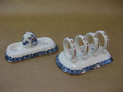 "Booths English China Toast Rack & Cruet Set ~ ""Pagoda"" Pattern Circa 1927"