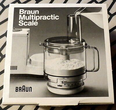 BRAUN Multipractic Kitchen Scale UKW-1 (VINTAGE NEW in Box)