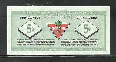 CANADIAN TIRE REPLACEMENT NOTE S31-Ba11  9001337002