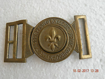 Swiss Boy Scouts & Belt Buckles