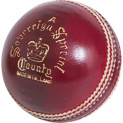 Readers Sovereign Special County 'A' Cricket Ball Size 5.5oz Mens Brand New