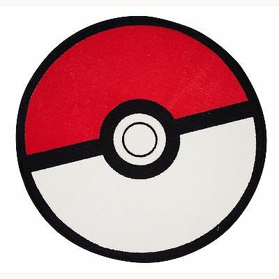 Pokemon Pokeball Floor Rug Kids Bedroom Floor Rug Mat Red Official New