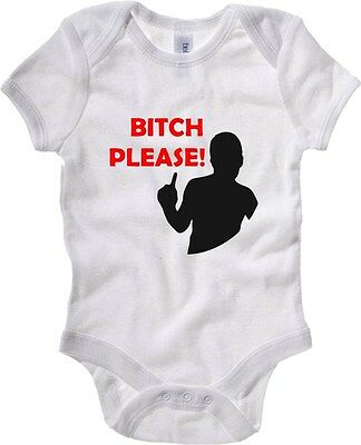 Baby Bodysuit TR0007 B  CH PLEASE 25mm 1 Pin Badge Button Adult Humour Fun Novel