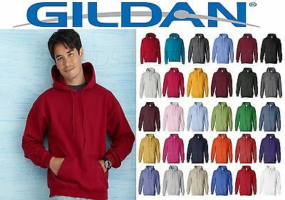 24 Gildan Heavy Blend Hooded Hoodie Sweatshirt 18500 S-XL WHOLESALE Lot of 24